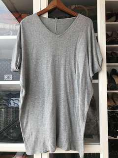 Basic Knit Grey Dress