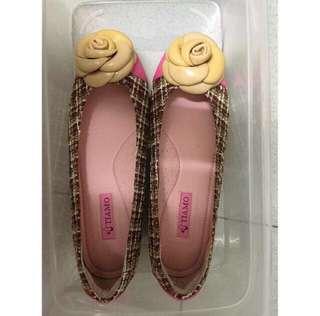 Tiamo Checked Flat Shoe (New)