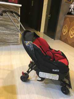 🚚 Sit and stroll kids 3 in 1 stroller