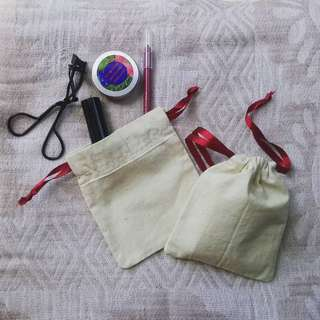 Canvass Drawstring Pouch
