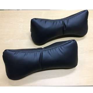 car neck pillow genuine leather