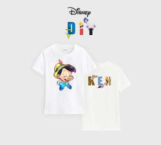 Custom Made DIY Name Kidwear Disney
