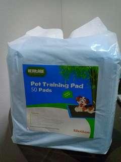 Dog Bamboo Charcoal Pee Pad 50 Pads 60 x 45cm