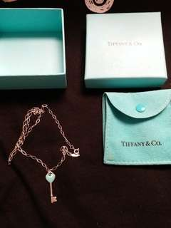 Tiffany chain with heart pendant