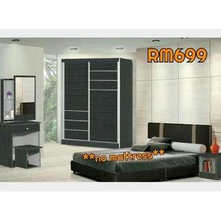 BEDROOM SET MURAH