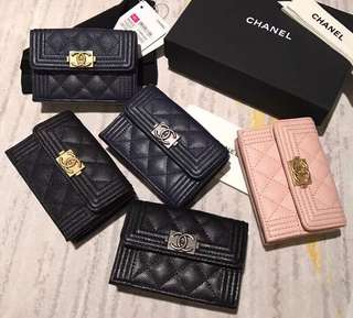 Chanel 卡包