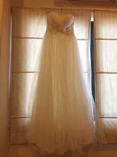Wedding Bridal Gown - Size S
