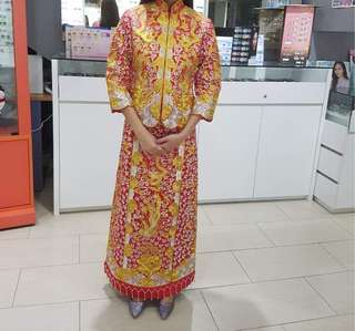 Chinese Wedding Gown - Size S