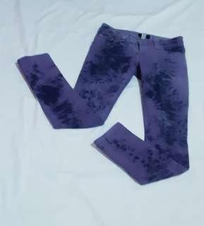 """Repriced """"Batik"""" Freego violet jeans"""