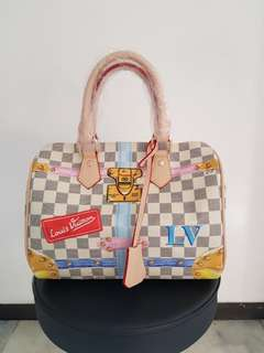 Tas Speedy Louis Vuitton Summer Trunk