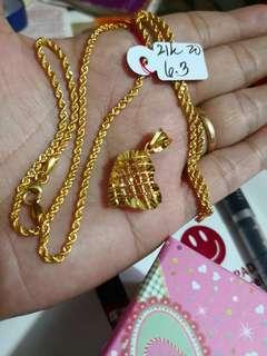 21k 100% pure Saudi Gold