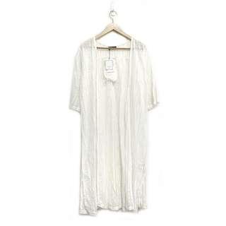🚚 日本購入 a.g.plus 質感極好 精緻蕾絲百搭罩衫 全新吊牌未拆