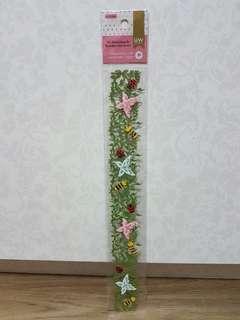 UW Scrapbooking 3D Handmade Border Stickers (Garden)