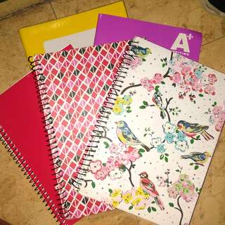 20PHP EACH NOTEBOOK!