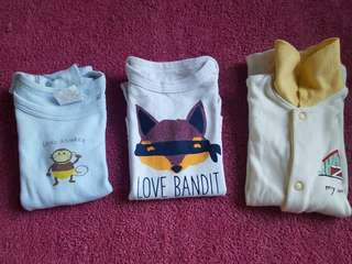 Baby clothes/onesies 3mos