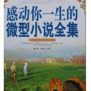 Chinese Book  感动你一生的微型小说全集