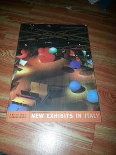 New exhibits in italy