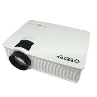 New-in-box Digitech Mini LED Projector AP4000 white portable
