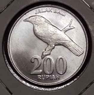 Indonesia 200 rupiah 2008