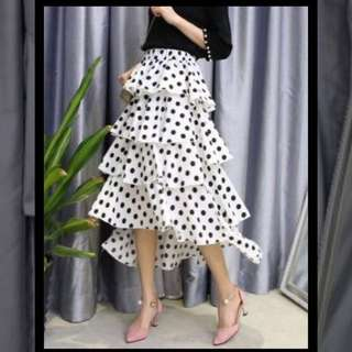 Podka Dots Layer Skirt