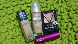 ⚠UPDATED⚠ SET: Maybelline Make Up and Vice Lipstick