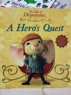 Tale of despereaux a hero's quest