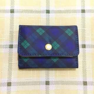 Mackintosh Philosophy cardholder purse wallet 卡包 錢包 銀包 蘇格蘭 格子 格仔 似burberry款 log on 牌子 checked pattern