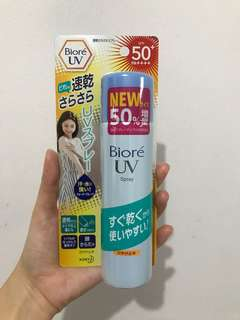 Biore UV spray spf 50 - sunblock