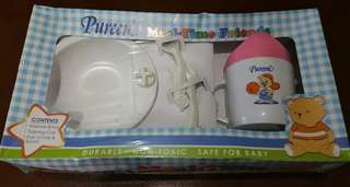 BNIB Pureen Baby Mealtime Feeding Set
