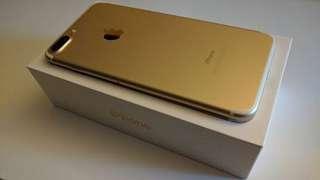 iphone7 plus 128g gold