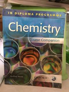 IB Chemistry Textbook / chemistry reference book