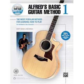 ALFRED'S BASIC GUITAR METHOD 1 (WITH ONLINE ACCESS)
