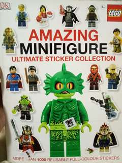 Amazing minifigure ultimate sticker collection lego