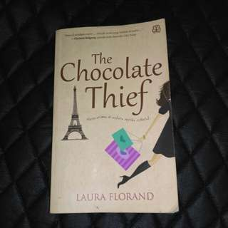 THE CHOCOLATE THIEF - NOVEL BEKAS SECOND PRELOVED BENTANG PUSTAKA