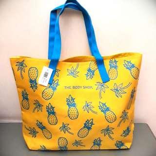 The Body Shop Beach Bag Yellow