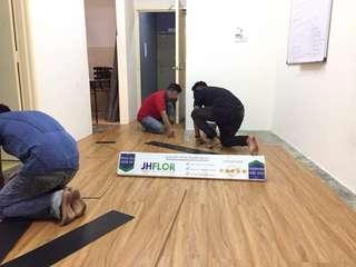 Vinyl Flooring / Lantai Kayu PVC