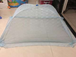 Foldable mosquito net newborn mosquito net baby mosquito net Babylove mosquito net blue
