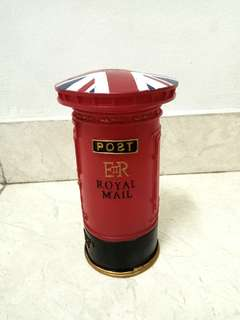 England Post Box Moneybox ( Celengan )