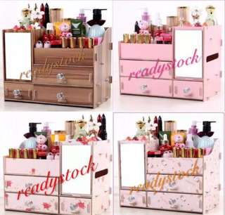 DIY WOODEN COSMETIC OR STATIONERY  TABLE ORGANIZER