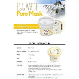 skinfood egg white mask
