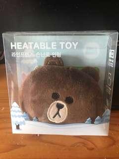 Line熊大暖手包