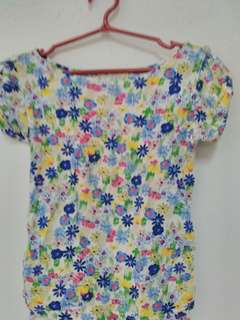 Authentic Old Navy Floral Top