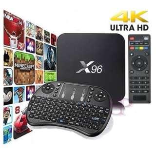 大量全新 超平推廣價 HKD350 / 1 SET 電視盒 加送 籃牙鍵盤