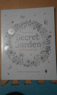 Secret Garden Adult Coloring Book