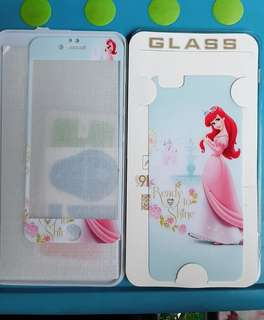 Tempered glass iphone 6 motif mermaid