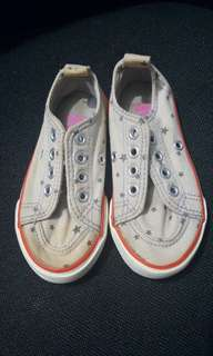 Cotton On Converse Style Girl's Shoes
