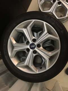 Ford Focus original rim 17 inch with Michelin tyre