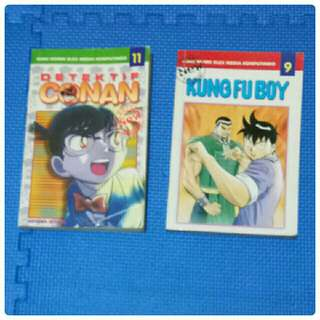 Kungfu Boy dan Detektif Conan