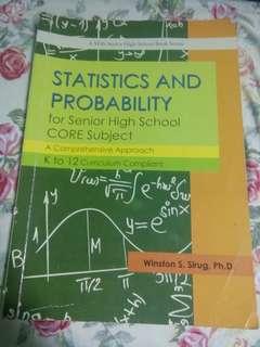 Statistics & Probability SHS Book