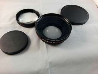 Tigereye macro lens